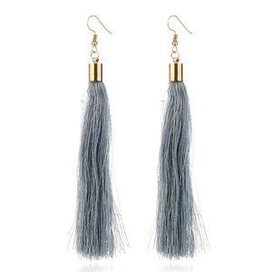 Jewelry - NEW boho gray tassel earrings